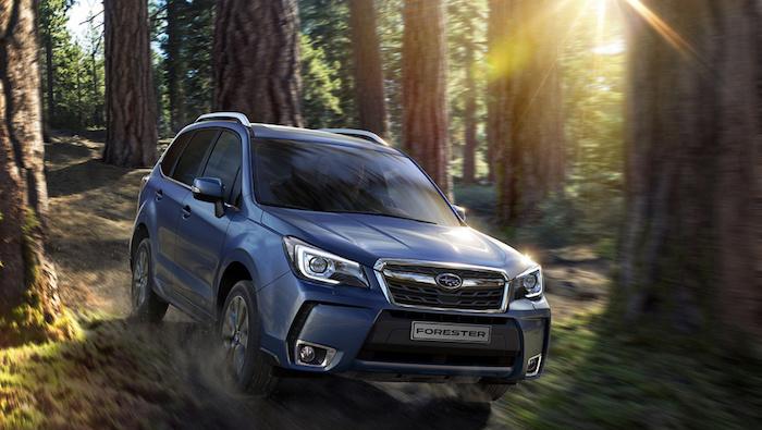 Subaru объявила цены на кроссовер Forester нового поколения