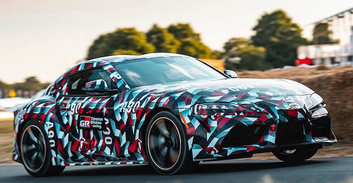 Toyota рассекретила двигатели для новой Supra