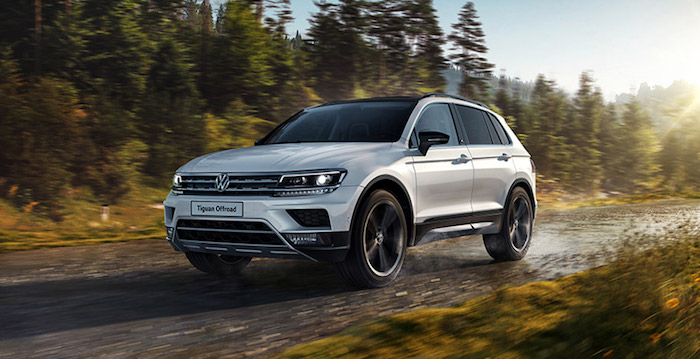 Volkswagen Tiguan Offroad получил цены для России
