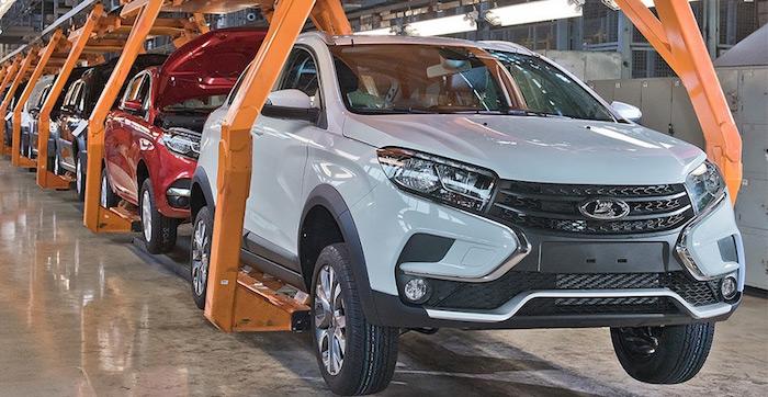 Стартовало производство «внедорожной» Lada XRay