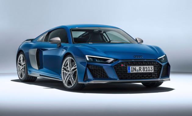 Audi R8 poluchil nebolshoy restayling