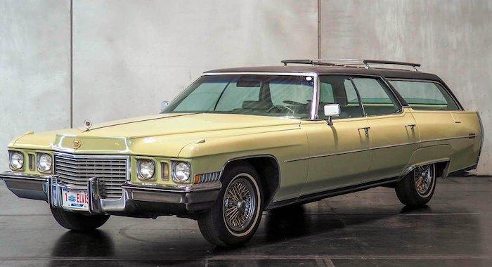 Последний Cadillac Элвиса Прэсли продали на аукционе