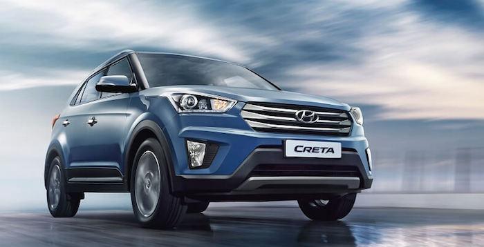 Hyundai Creta in Blue