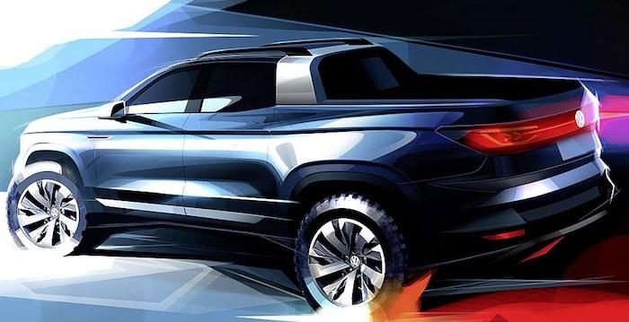 Volkswagen разрабатывает компактный пикап