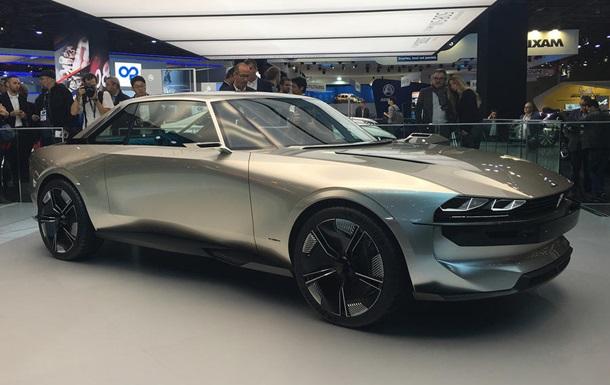 Peugeot показал на Парижском автосалоне e-Legend