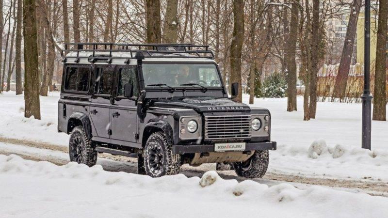 Poyavilis novyie izobrazheniya Land Rover Defender