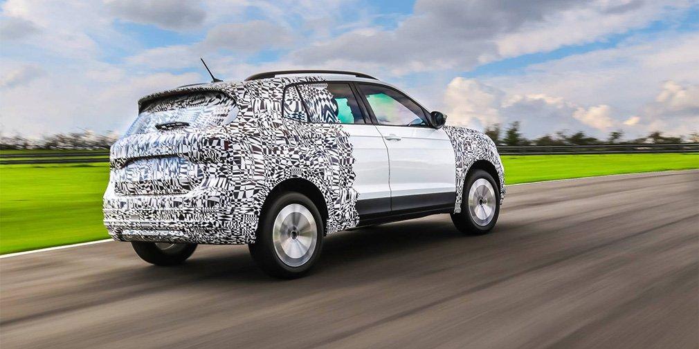 Volkswagen готовит к выходу новый кроссовер T-Cross