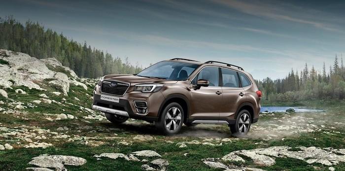 Объявлены рублевые цены на новый Subaru Forester