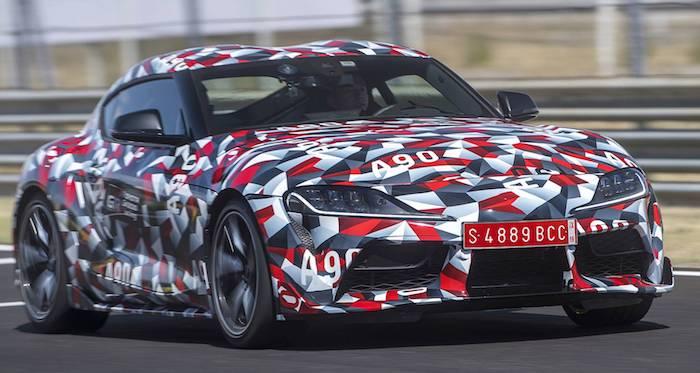 Возрожденная Toyota Supra: стала известна дата презентации