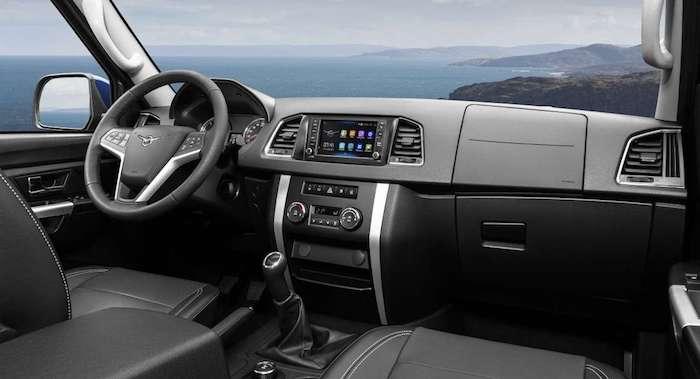 uaz pickup 2018 sales start interior