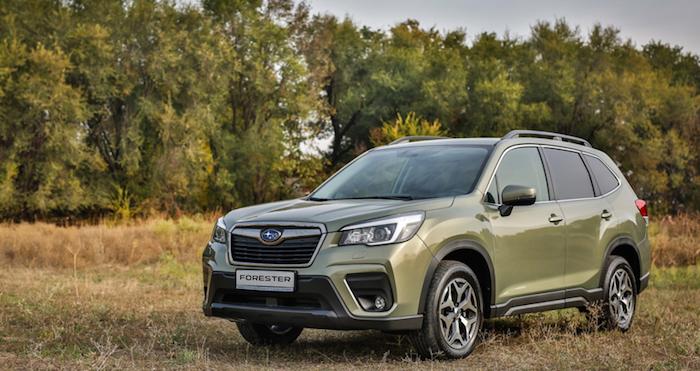 Продажи Subaru в РФ выросли на 14,5%