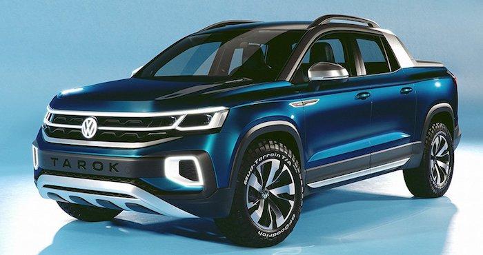 Volkswagen показал новый компактный пикап Tarok