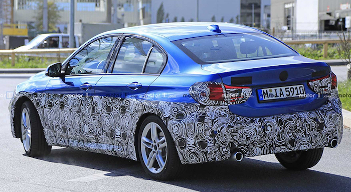 На тестах засняли прототип седана BMW 1-Series