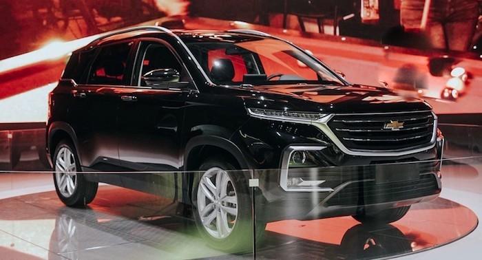 Chevrolet представил второе поколение кроссовера Captiva