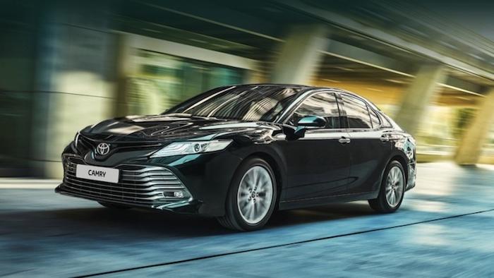 Toyota Camry в октябре стала бестселлером марки в РФ