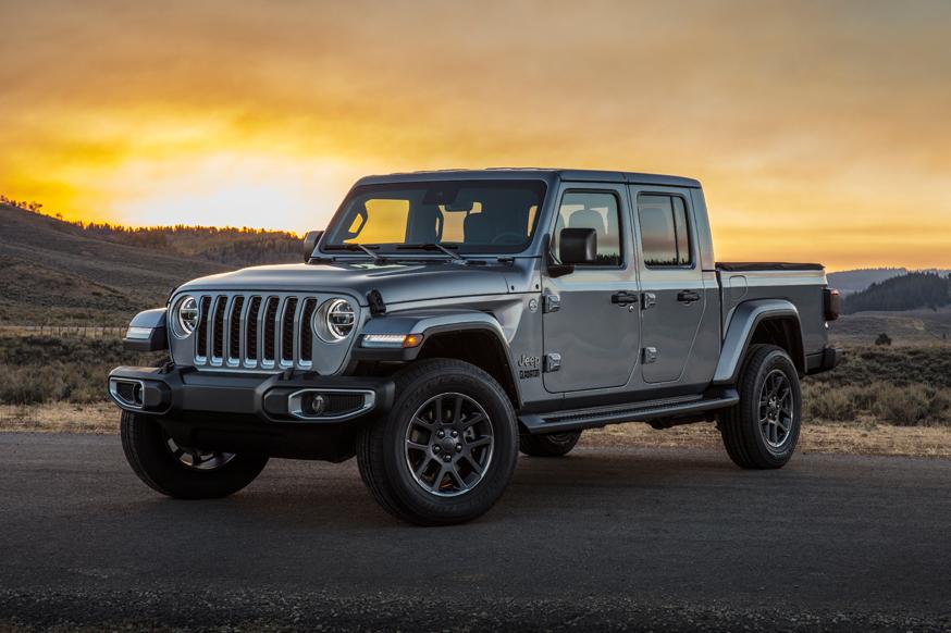 Американский автомобильный концерн Jeep представил пикап Gladiator