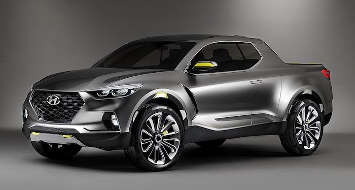 Первый пикап Hyundai построят на базе Tucson
