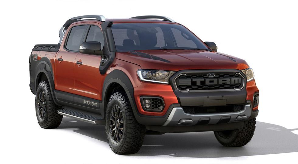 Особенности нового Ford Ranger Storm
