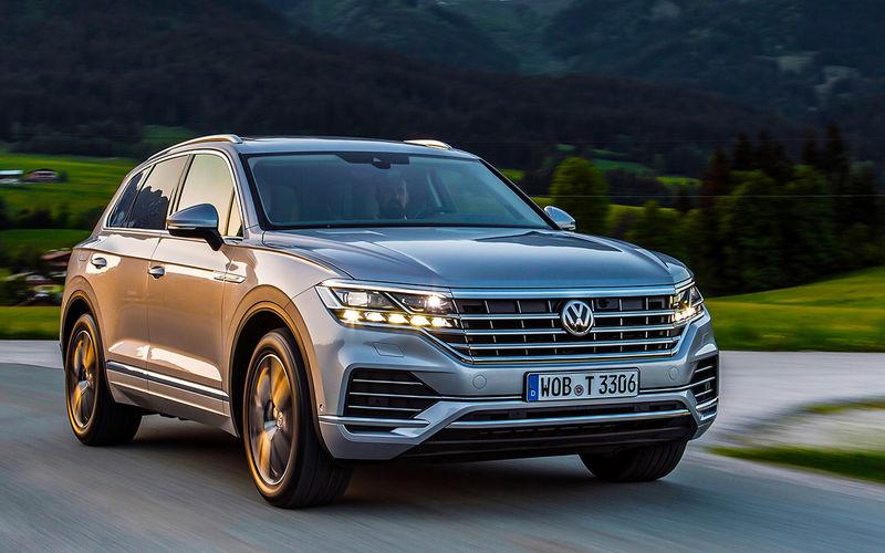 Volkswagen Touareg в России получит новый мотор