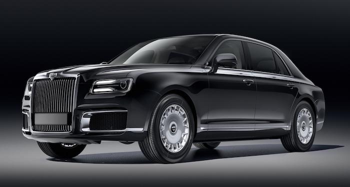 Автомобили бренда Aurus раскупили на два года вперед