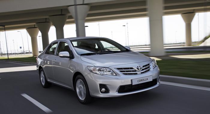 Новый седан Тойота Corolla: первое изображение