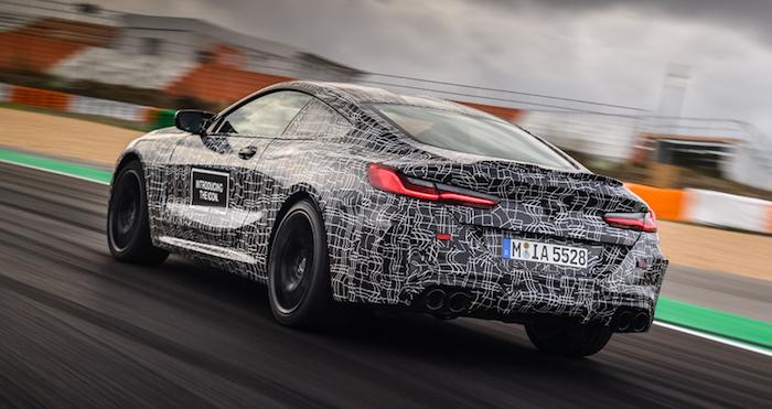 """BMW рассекретила """"начинку"""" нового M8"""