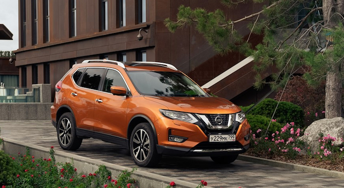 В РФ стартовали продажи нового Nissan X-Trail