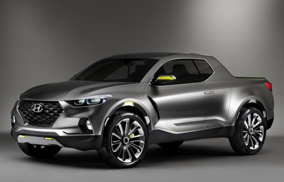 Hyundai утвердил дизайн будущего пикапа