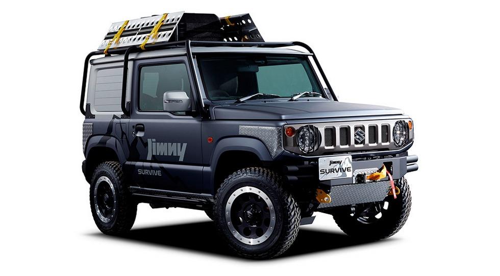 Suzuki Jimny vyihodit v novom pokolenii1