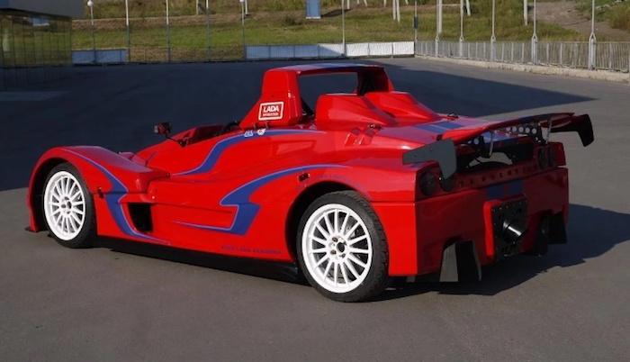 ВСамаре реализуют редкостный спорткар Лада Revolution за1,55 млн руб.