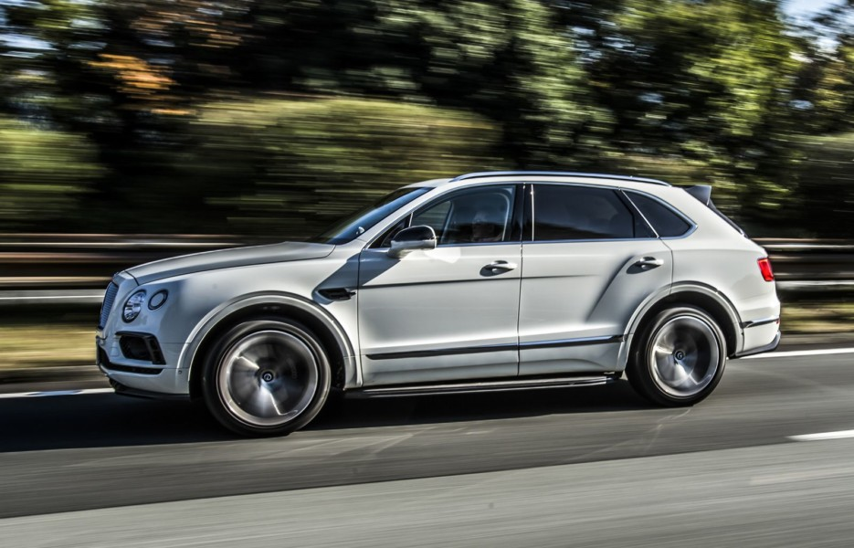 Bentley Bentayga получит более мощный двигатель
