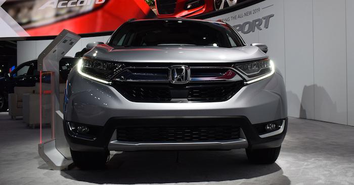 Представлен улучшенный кроссовер Хонда CR-V 2019