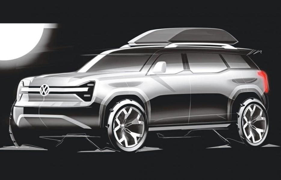 Opublikovanyi ofitsialnyie fotografii novogo vnedorozhnika Volkswagen