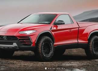 Lamborghini Urus pickup