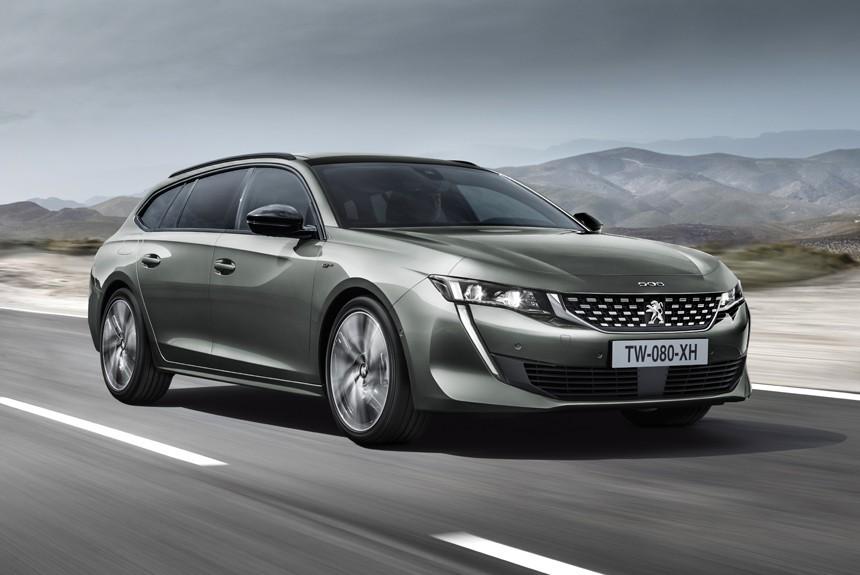 Peugeot построил 410-сильный полноприводный седан 508