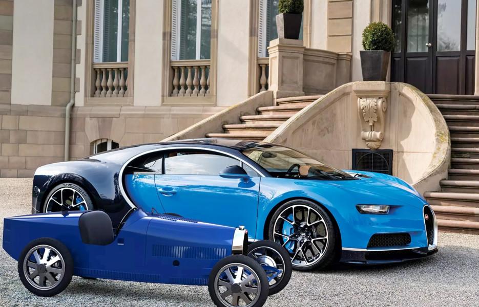 Bugatti vypustila elektromobil za 30 tysyach evro