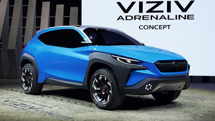 Subaru Viziv Adrenaline poluchil novyj firmennyj stil