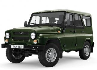 UAZ Hunter 2019