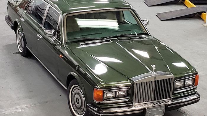 На аукцион выставлен Rolls-Royce принцессы Дианы