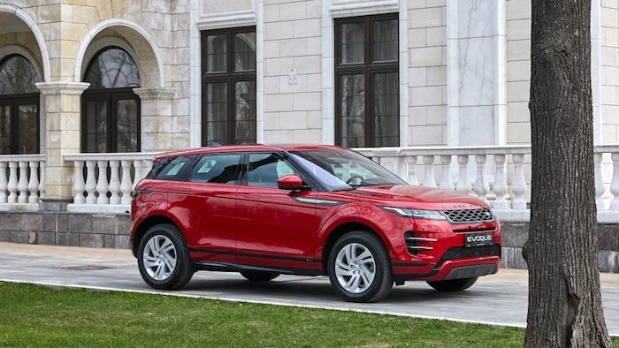 Range Rover Evoque 2019 premiere Rus 2