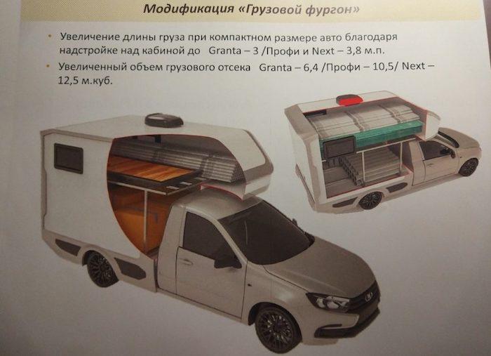 Gruzovoy furgon LADA Granta