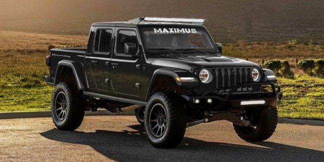 Jeep Gladiator poluchil 1000 silnuyu versiyu Hellcat