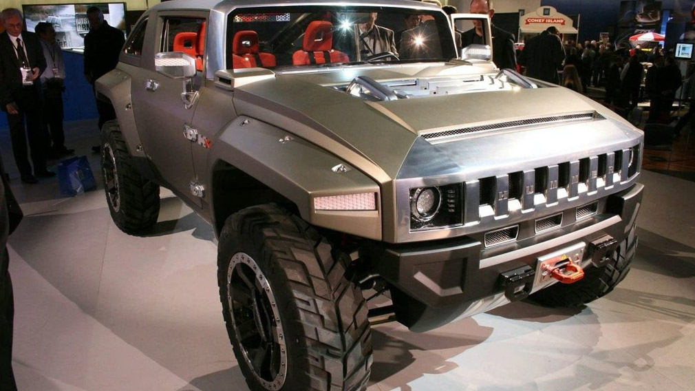 General Motors planiruet vozrodit brend Hummer
