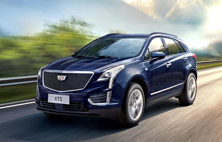 Особенности нового обновлённого Cadillac XT5