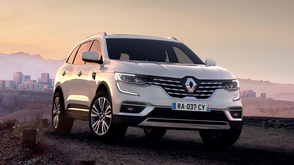Predstavlen obnovlyonnyj Renault Koleos