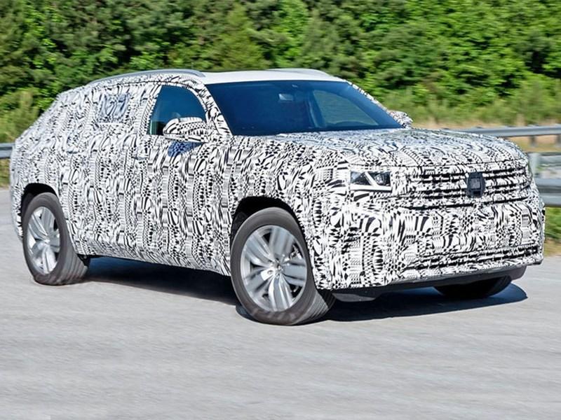 Volkswagen Teramont H zametili na testah