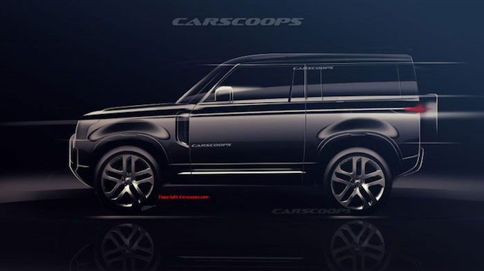 and rover defender carscoops 3