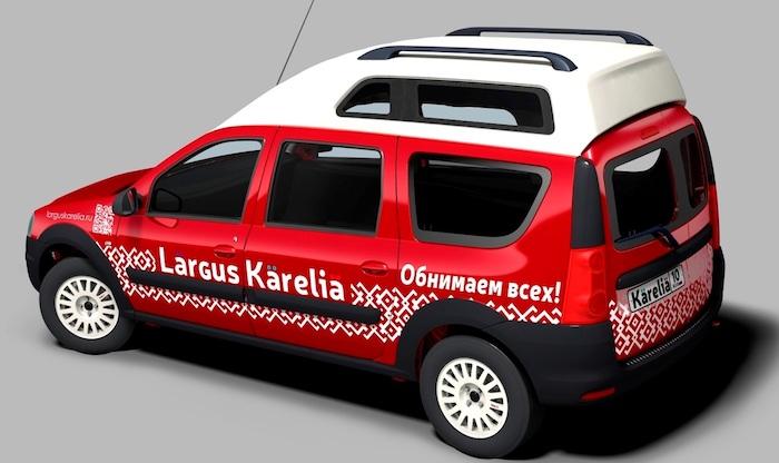 ларгус карелиа