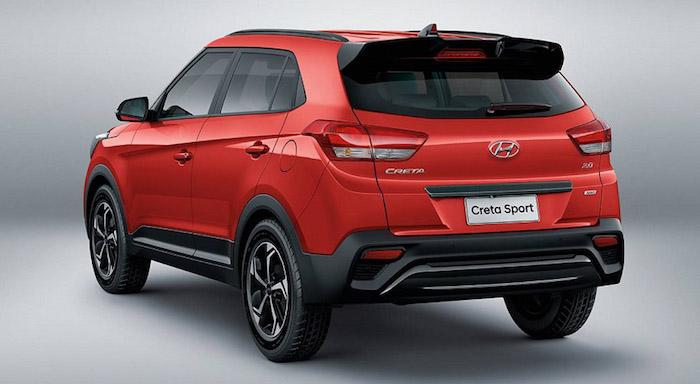 2019 Hyundai Creta Sport Rear