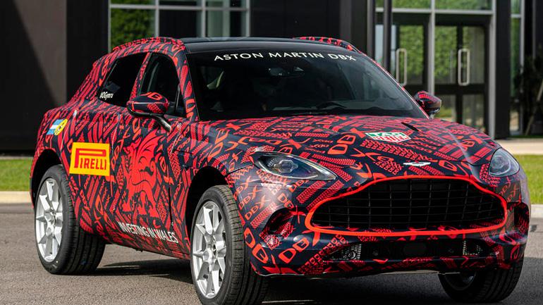 Aston Martin DBX postupit na konvejer uzhe v dekabre